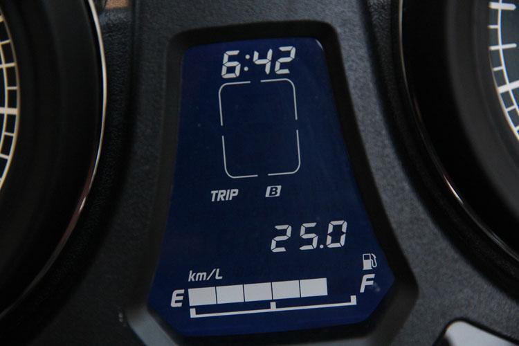 トータル997 キロを走り、39.8リットルを使い、平均燃費25km/lだった