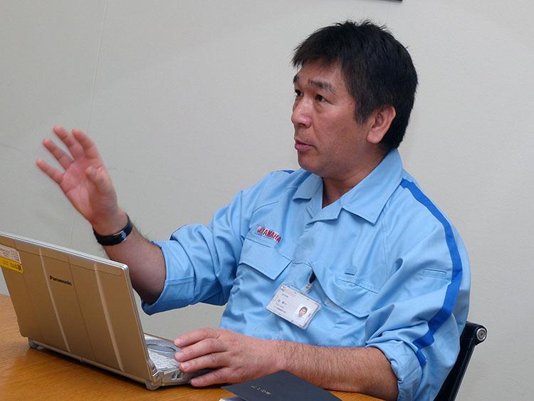 ヤマハ発動機 技術本部MS開発部長・辻幸一氏