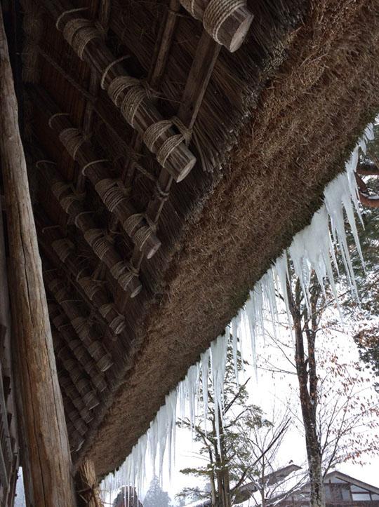 屋根の末端